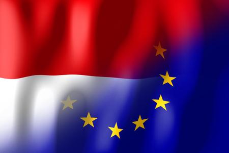 몰타와 유럽 연합 국기
