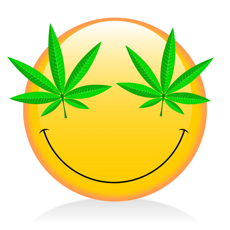 narcotic: Emoji - smoking weed