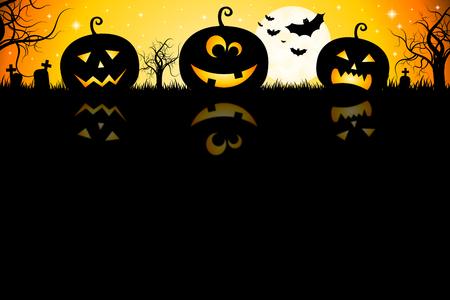 Halloween card - template