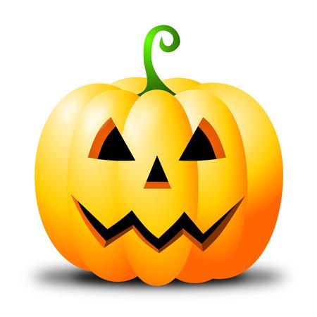 Halloween illustration - Jack-o-lantern