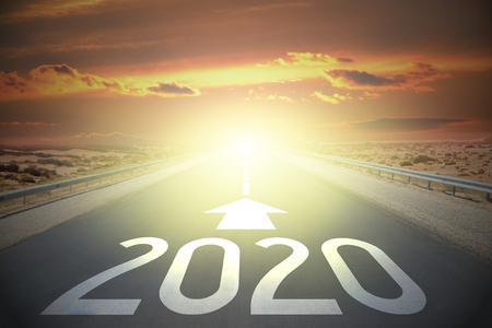 道路コンセプト - 2020 写真素材
