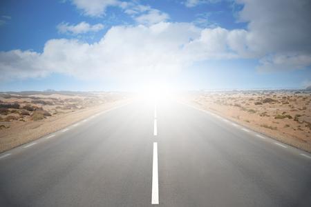 Empty road Фото со стока
