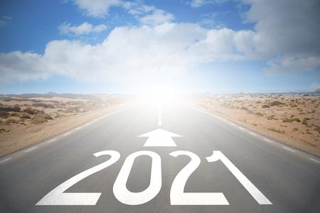 Road concept - 2021 版權商用圖片