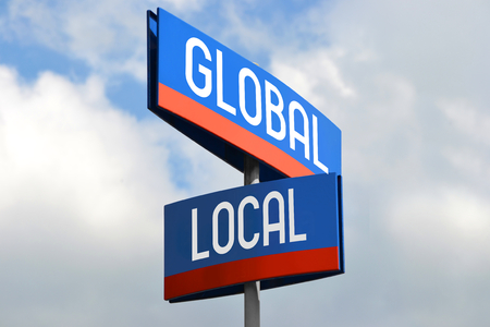 Global and local street sign