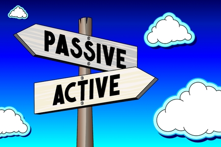 Signpost - active, passive
