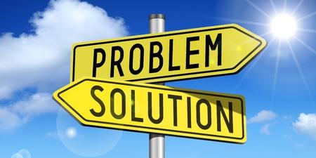 3D signpost - problem, solution