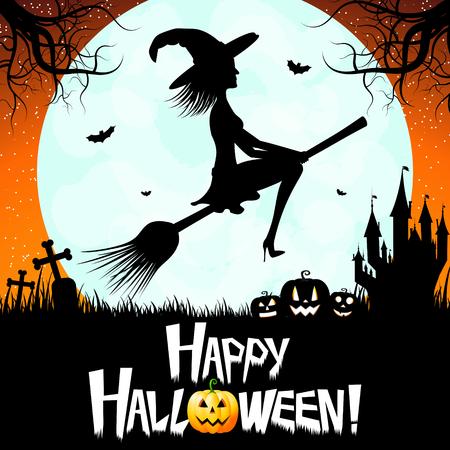 Halloween card - Happy Halloween!