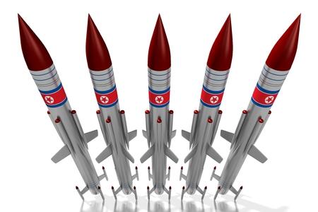 北朝鮮、ミサイル