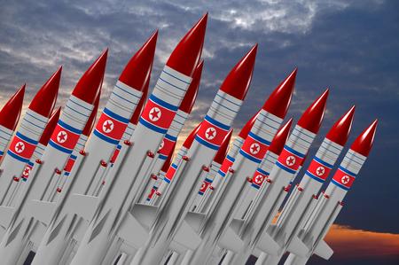 North Korea, missiles