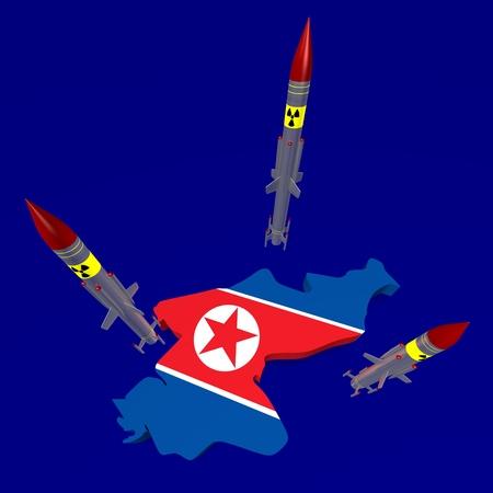 北朝鮮ミサイルのコンセプト