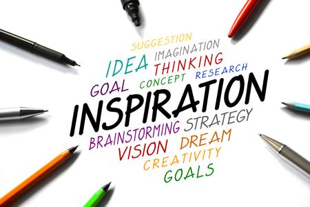 Inspiration concept Stock Photo
