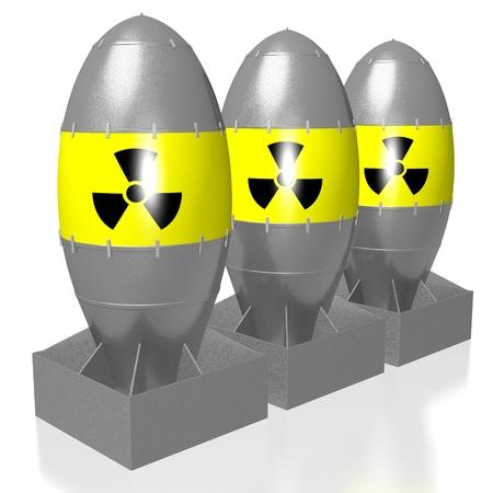 3D atomic bombs