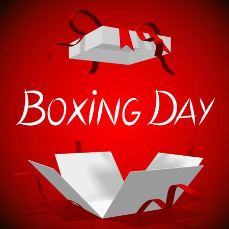 Boxing Day illustration Stock Illustration - 88247721