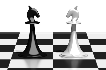 3D chess - knights