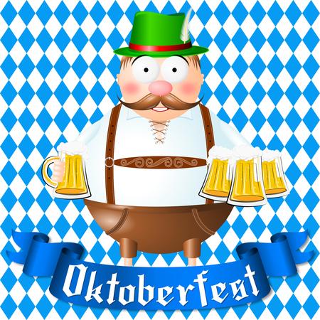 Oktoberfest illustration