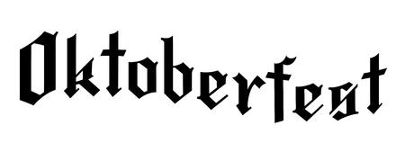 Oktoberfest - typography 写真素材