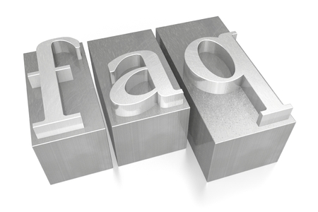 FAQ - Frequently Asked Questions - letterpress