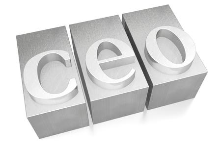 CEO - letterpress