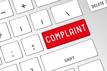 Complaint - 3D computer keyboard