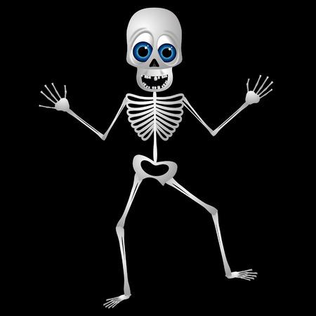Skeleton - Halloween cartoon character