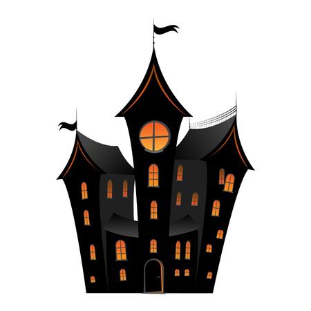 Spooky Halloween house/ castle