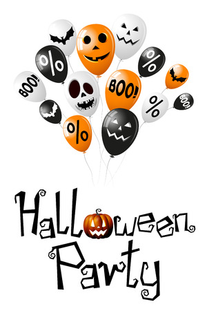 Halloween Party poster banner