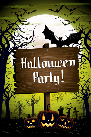 Halloween Party - poster design
