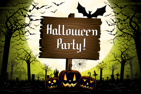 Halloween Party - banner