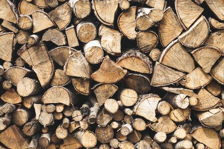 Chopped wood, woodpile, firewood