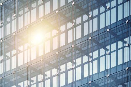 Fachada de edificio de oficinas moderno
