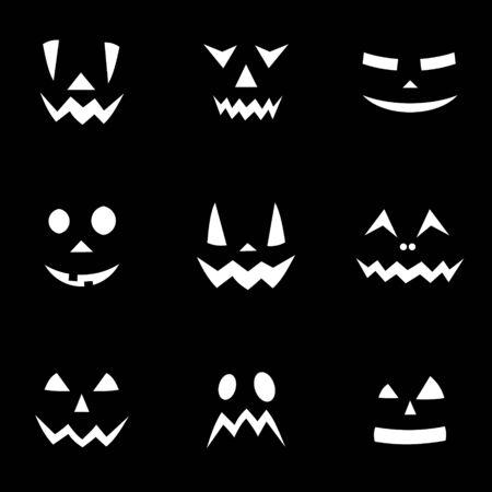 Halloween pattern/ background illustration Banco de Imagens - 128522982