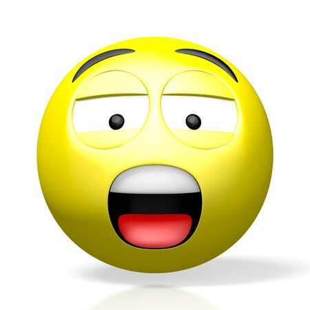 3D emoji emoticon - sad scared bored grumpy
