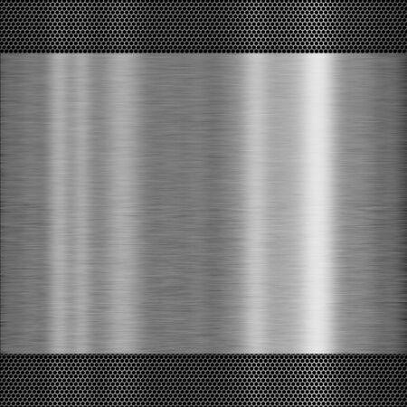 Struttura del metallo - concetto di sfondo