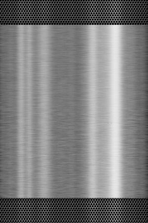 Textura de metal - concepto de fondo Foto de archivo