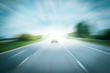 Driving on a highway