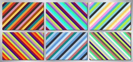 Retro, vintage vector background - stripes Vectores