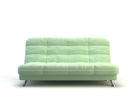 modern sofa on the white