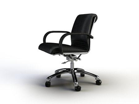 office chair on the white background