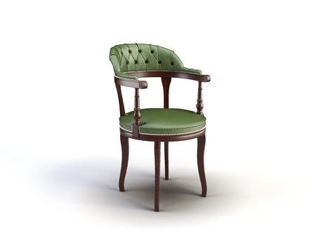 krzesło na białym tle