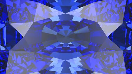 diamond stones: 3D illustration crop sapphire diamond texture macro zoom