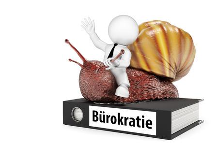 bureaucracy: bureaucracy snail
