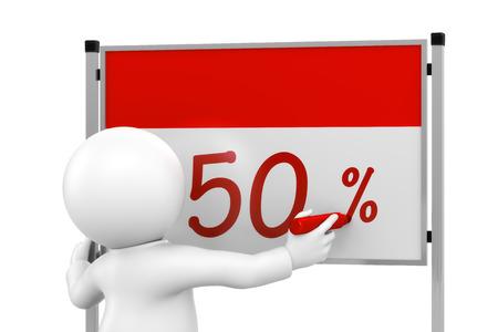 50: Chart 50 percent