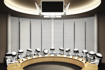comité d entreprise: conseil Banque d'images