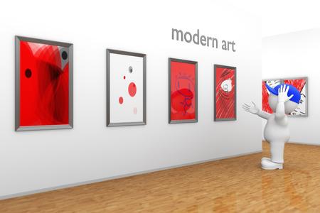 kidding: modern art Stock Photo