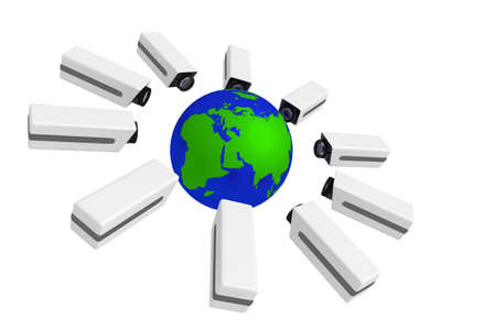 electronically: global monitoring