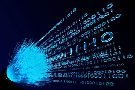 cabo de fibra  Imagens