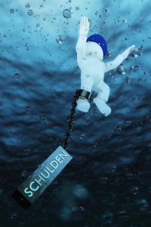 perish: sinking into debt