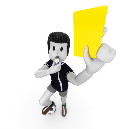 soccer wm: yellow card