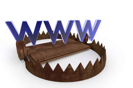 secret code: Traps on the Internet