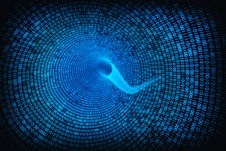 information medium: data swirl